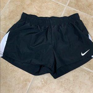 Nike Black Dri-Fit Running Shorts